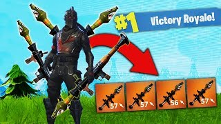 Download The QUAD Rocket Strategy - WORLD RECORD GAME! [Fortnite] Video