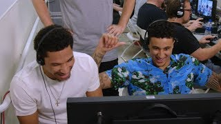 Download Kyle Kuzma and Josh Hart Make B/R Hosts Do Whatever They Want in Las Vegas Sneaker Store Video