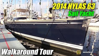 Download 2014 Hylas 63 Sailing Yacht - Deck and Interior Walkaround - 2015 Annapolis Sail Boat Show Video