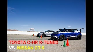 Download Track Battle - Toyota C-HR R Tuned vs. Nissan GT-R Video