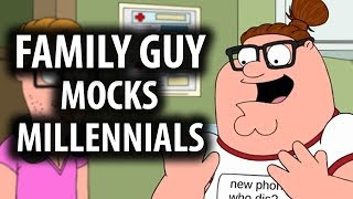 Download Family Guy Mocks Millennials & Social Media Explained Video
