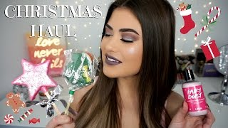 Download CHRISTMAS LUSH HAUL 2016 - Holiday Gift Ideas! Video
