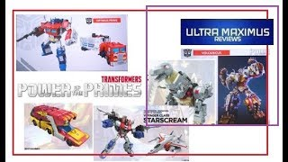 Download Transformers Power of the Primes Reveal Thoughts Hasbro HASCON (2017) Video