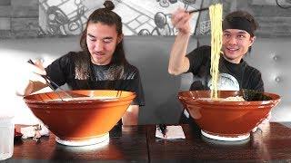 Download GIANT Ramen Challenge (vs Morgan) (3,000,000 Sub Video!) Video