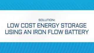 Download Low Cost Energy Storage Using an Iron Flow Battery by ESS, Inc. Video