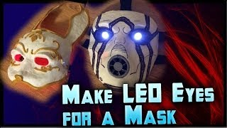 Download How to Make LED Eyes For a Mask! Light Up Eyes Tutorial Cheap! By ohaple Video