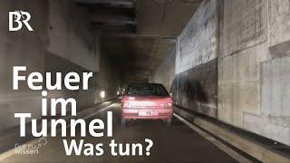 Download Feuer im Tunnel: Verhaltenstipps für Autofahrer | Gut zu wissen | BR Video