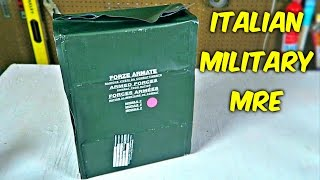 Download Testing Italian Military MRE (24Hr Combat Food Ration) Video