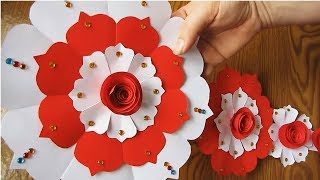 Download DIY. Paper Craft. Paper Design For Special Occasion. Color Paper Wall Hanging. w2 Video