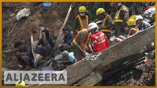 Download 🇵🇭 Philippines rescuers dig for Mangkhut survivors with bare hands   Al Jazeera English Video