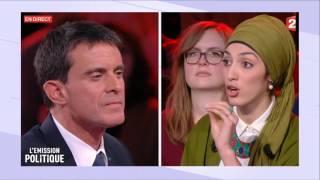 Download Débat sur le port du voile entre Manuel Valls et Attika Trabelsi Video