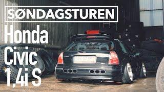 Download Søndagsturen // Honda Civic 1,4i S // DANMARKS LAVESTE HONDA?! Video