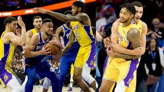 Download Brandon Ingram Game Winner vs 76ers! Ben Simmons Triple Double! 2017-18 Season Video