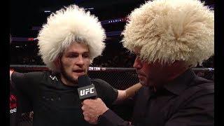 Download UFC 219: Khabib Nurmagomedov - Octagon Interview Video