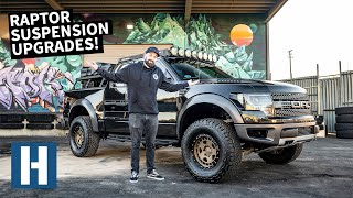 Download Blown Raptor Shocks = Worst! Suspension Overhaul on Vin's Tow/Camp Rig Video