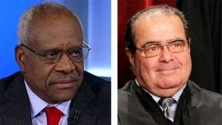 Download Clarence Thomas: Court is very different without Scalia Video