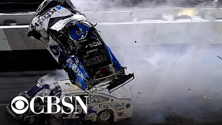 Download Ryan Newman hospitalized after terrifying crash at Daytona 500 Video