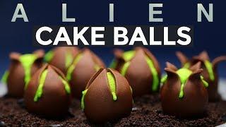 Download ALIEN EGG CAKE BALLS - NERDY NUMMIES - ALIEN COVENANT Video