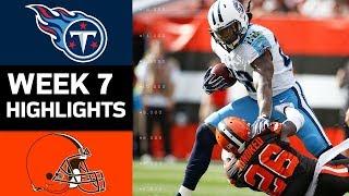 Download Titans vs. Browns | NFL Week 7 Game Highlights Video