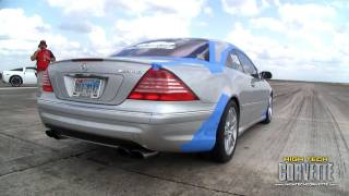 Download CL55 180mph pass at the Texas Mile - October 2010 Video