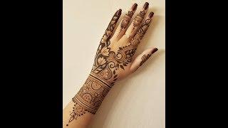 Download Simple Elegant Henna Design Video