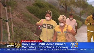 Download Arson-Sparked Holy Fire Explodes, More Than 20K People Forced To Flee Video
