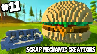 Download Scrap Mechanic CREATIONS! - CRAZY VEHICLES!! [#11] W/AshDubh | Gameplay | Video
