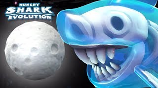 Download GHOST SHARK EATS MOON!! || Hungry Shark Evolution - Ep 34 HD Video