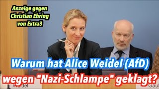 Download ″Nazi-Schlampe″: Warum hat Alice Weidel (AfD) Christian Ehring (extra3) verklagt? Video