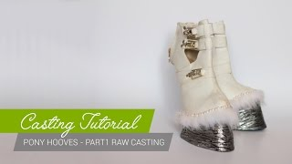 Download Casting Tutorial - How to make pony hoof shoes (Part1) [ENG] Video
