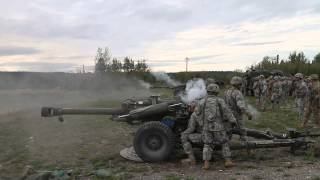 Download Uncut Direct Fire Drill M119 Howitzer Video