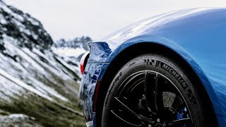 Download Ford GT in the Austrian Alps Video