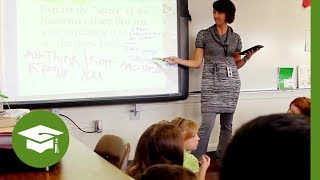 Download Flipping Professional Development: No teacher bored in the background Video