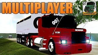 Download Grand Truck Simulator Multiplayer - SKIN PARA SCANIA 113H Video