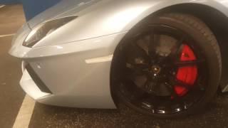 Download Daughter not impressed with Lamborghini Aventador LP700-4 Roadster Video