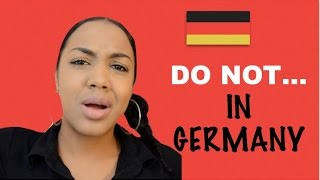 Download NO NO's IN GERMANY Video