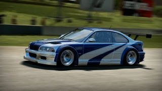 Download NFS Shift 2 Unleashed [HD] - BMW M3 GTR E46 Most Wanted Edition on Road America Video
