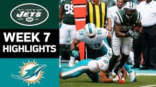 Download Jets vs. Dolphins | NFL Week 7 Game Highlights Video