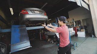 Download SO LOUD Mercedes Benz Dumped Exhaust Video