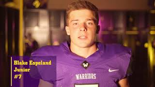 Download Waukee Football Starting Lineups 2017 Week 1 Video