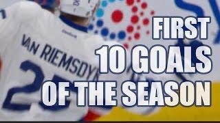Download James van Riemsdyk First 10 Goals of the 2016-17 Season. (ALL GOALS) Video