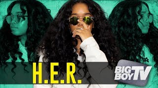 Download H.E.R. On Being Confident as an Artist, Being in a Group w/ Kehlani & A Lot More! Video