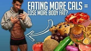Download Why Eating More Cals = Losing More Body Fat? Video