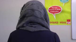 Download Caissière Auchan City Tourcoing - Fadila - interview Gilles balbastre Video