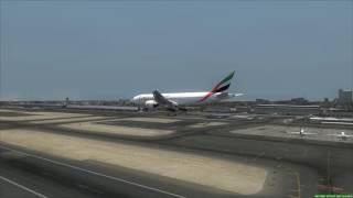 Download Dubai Airport Crash Emirates Boeing 777 Video