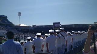 Download 2016 USNA Commissioning Salute & Flyover Video