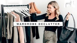 Download Planning, Cleaning & Shopping | Wardrobe Declutter & Organization Pt 1 Video