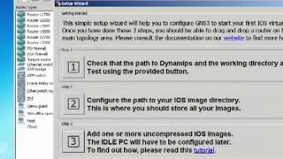 Download GNS3 Installation and Configuration Video