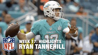 Download Ryan Tannehill Leads the Charge, Upsets the Pats! | Patriots vs. Dolphins | NFL Week 17 Highlights Video