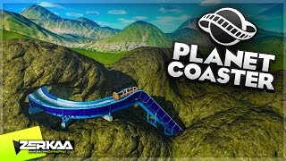 Download LOG FLUME IN A MOUNTAIN! (Planet Coaster #4) Video